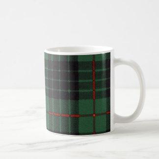 Tartán escocés real - Gunn - taza
