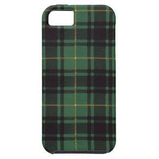 Tartán escocés real - Macarthur - dibujado por Nek iPhone 5 Protector