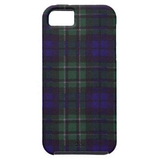 Tartán escocés real - Maccallum iPhone 5 Case-Mate Carcasas