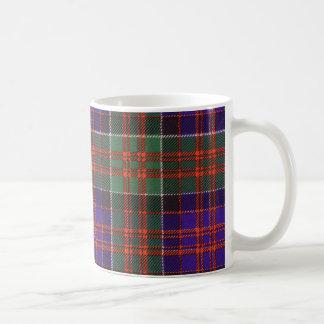 Tartán escocés real - Macdonald de Clanranall Tazas De Café