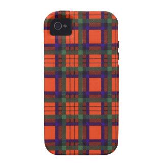 Tartán escocés real - Macduff iPhone 4/4S Carcasas