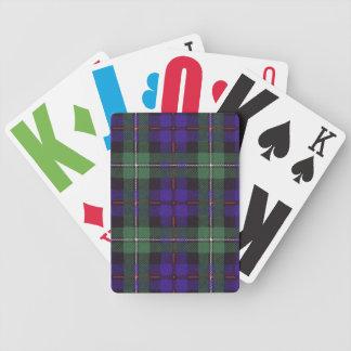 Tartán escocés real - Mackenzie Cartas De Juego