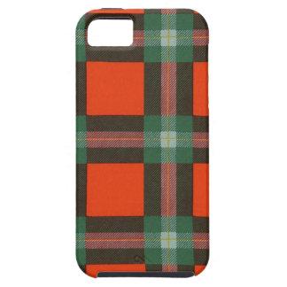 Tartán escocés real - Maclaine de Lochbuie iPhone 5 Fundas