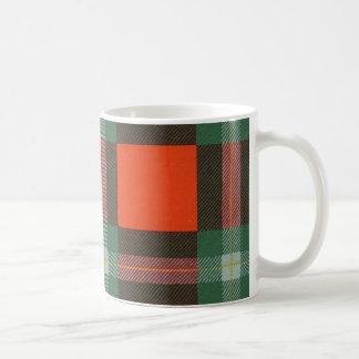 Tartán escocés real - Maclaine de Lochbuie Taza