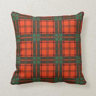 Tartán escocés real - maxwell cojín decorativo