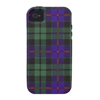 Tartán escocés real - Morrison Vibe iPhone 4 Fundas