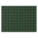 Tartán escocés verde oscuro de la tela escocesa mantel