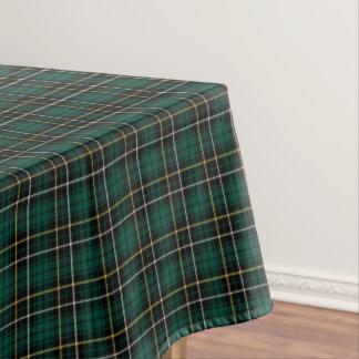 Tartán escocés verde oscuro de MacAlpine del clan Mantel