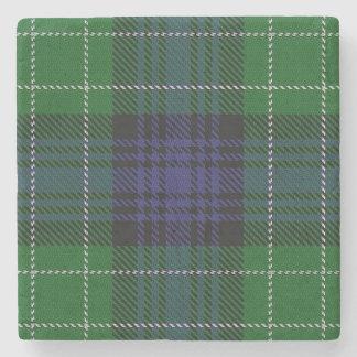 Tartán escocés viejo de Abercrombie del clan de la Posavasos De Piedra
