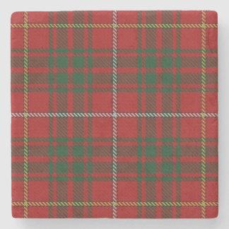 Tartán escocés viejo de Bruce del clan de la Posavasos De Piedra