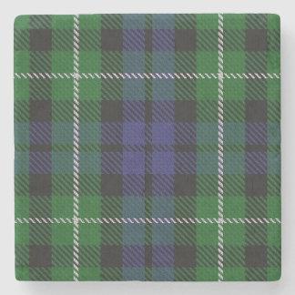 Tartán escocés viejo de Graham del clan de la Posavasos De Piedra