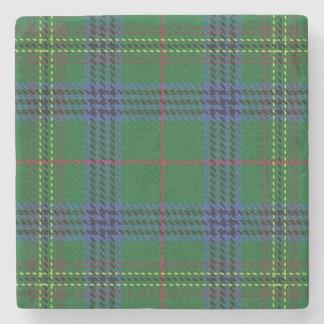 Tartán escocés viejo de Kennedy del clan de la Posavasos De Piedra