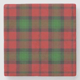 Tartán escocés viejo de Kerr del clan de la Posavasos De Piedra