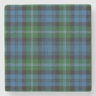 Tartán escocés viejo de Lyon del clan de la Posavasos De Piedra