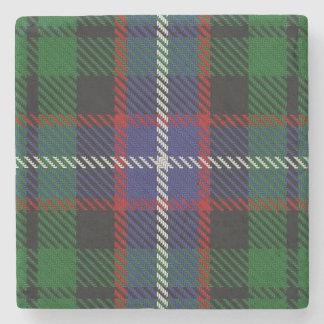 Tartán escocés viejo de Russell del clan de la Posavasos De Piedra