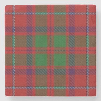 Tartán escocés viejo de Shaw del clan de la Posavasos De Piedra