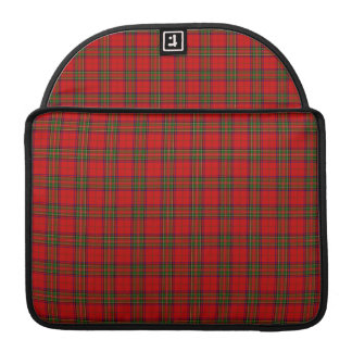Tartan Fabric Pattern Sleeve For MacBook Pro