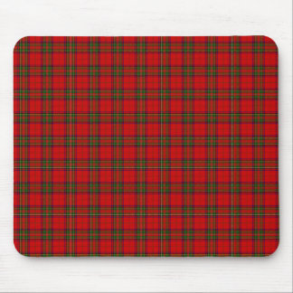 Tartan Fabric Pattern Mousepad