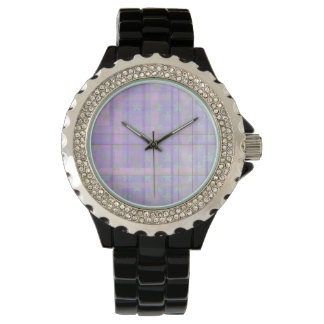 Tartan Fantasy pattern wrist watch