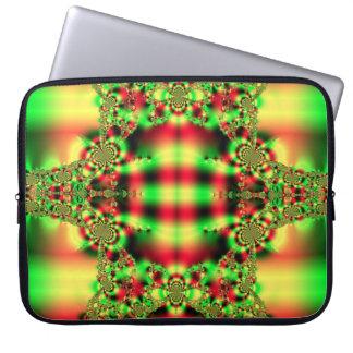 Tartan Fractal Laptop Sleeve