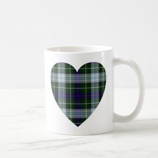Tartan Heart Mug