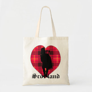 Tartan Heart & Piper Bag