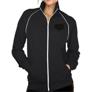 Tartan Hearts logo track jacket