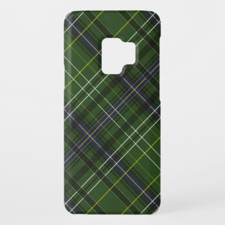 Tartan in green Case-Mate samsung galaxy s9 case