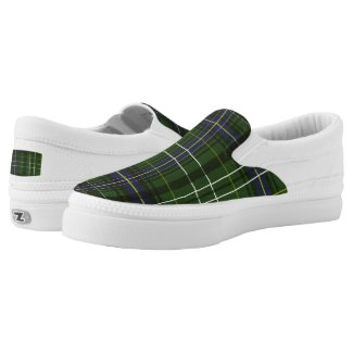 Tartan in green Slip-On sneakers