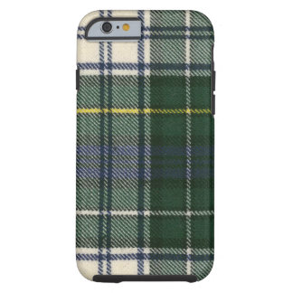 tartán moderno del vestido de Campbell del caso Funda De iPhone 6 Tough