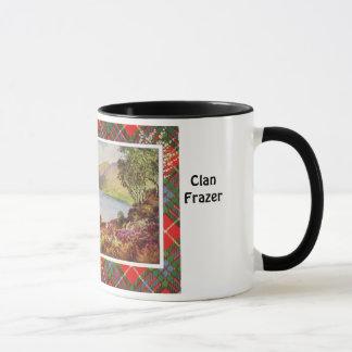 Tartan Mug, Clan Fraser, Loch Long Mug