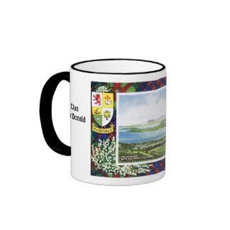 Tartan Mug, Clan  MacDonald, Ringer Mug