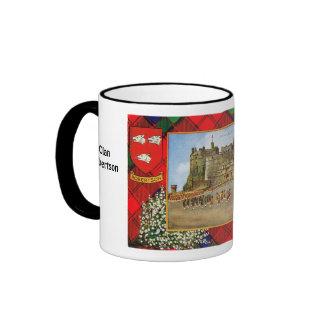 Tartan Mug, Clan  Robertson, Ringer Mug