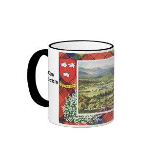 Tartan Mug, Clan  Robertson Ringer Mug
