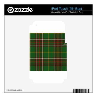 Tartan_of_Newfoundland_and_Labrador iPod Touch 4G Skins