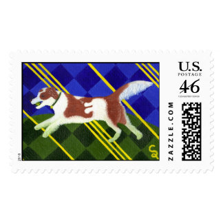 Tartan of the Border Collie Stamps