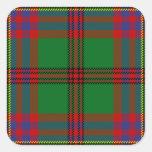Tartan Of The Celts Tartan Pattern Square Sticker
