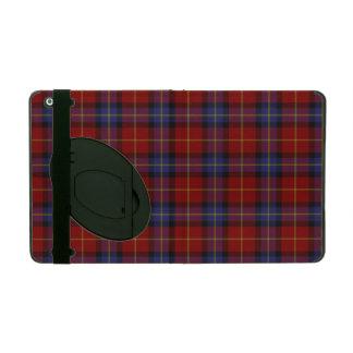 Tartan pattern iPad cover