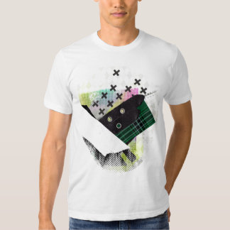 Tartan patterns are fab tee shirt