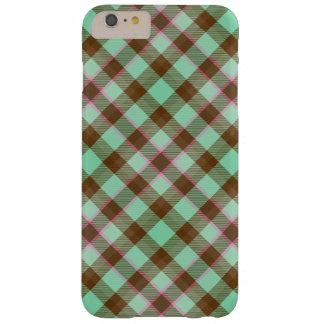 Tartan Plaid, Chocolate Mint iPhone 6 Plus Case