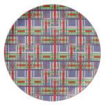 Tartan/Plaid/Clan Plate