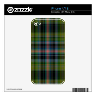 Tartan Plaid Decal For iPhone 4S