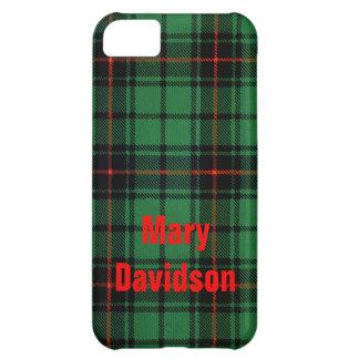 Tartan Plaid for Davidson iPhone Cases iPhone 5C Case