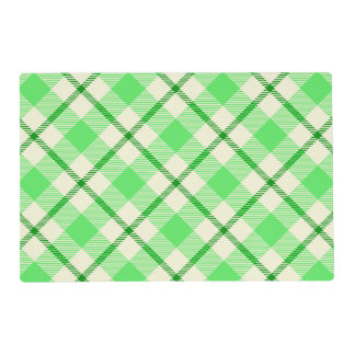 Tartan Plaid Green St. Patrick's Day Placemat