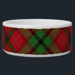 """Tartan Plaid Holiday Festive Christmas Bowl<br><div class=""""desc"""">This is such a beautiful Christmas design. All of my products can be customized by you,  so feel free to make this even more cute and personal.</div>"""