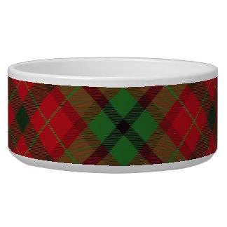 Tartan Plaid Holiday Festive Christmas Bowl