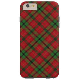 Tartan Plaid Holiday Festive Christmas Tough iPhone 6 Plus Case
