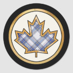 Tartan Plaid Pattern Collection - Blue 03 Sticker