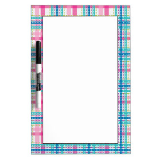 Tartan, plaid pattern Dry-Erase board