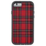 Tartán real de Stewart Funda De iPhone 6 Tough Xtreme